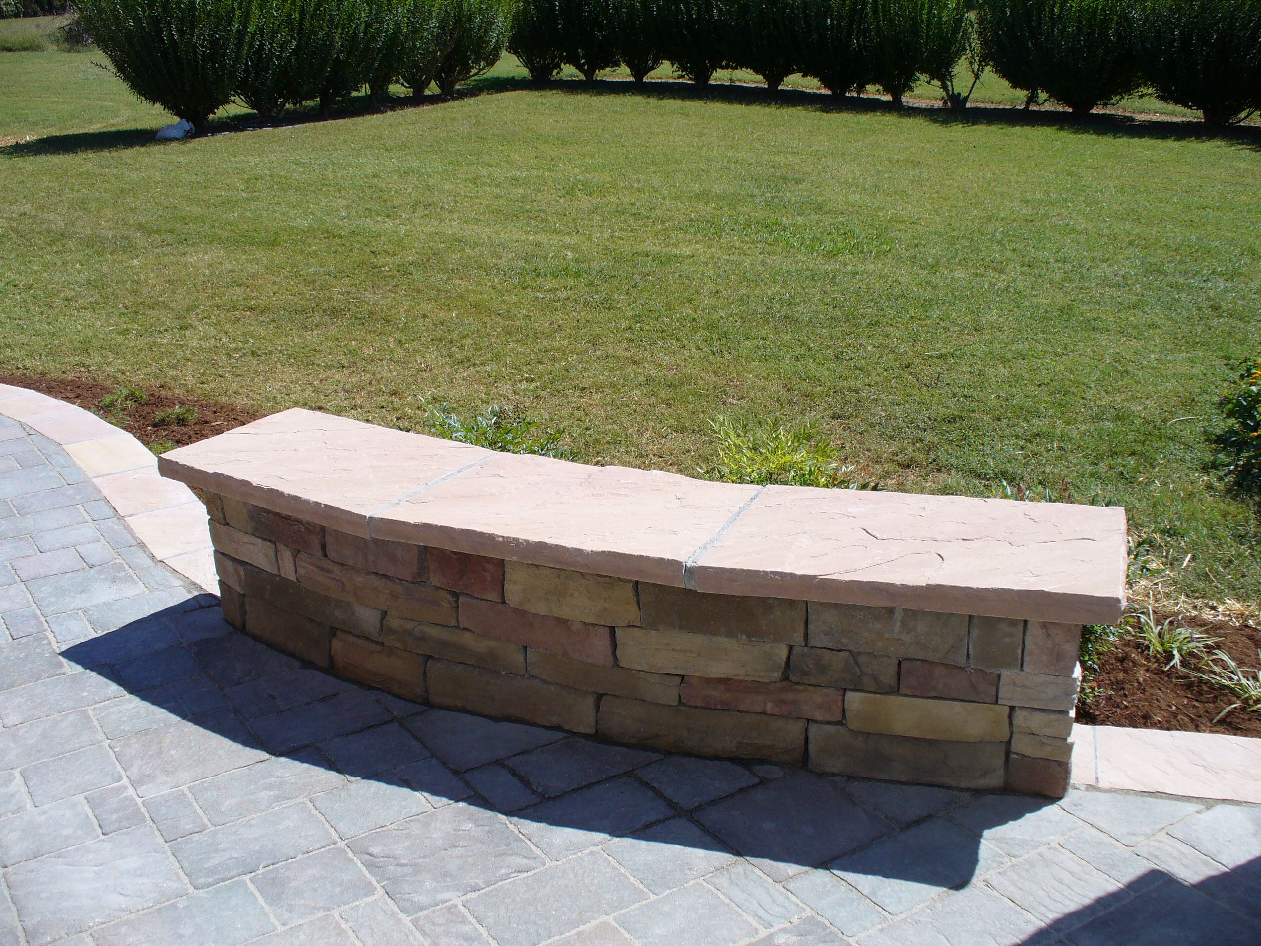 Retaining Wall Seating Retaining Seating Walls Just My Style Landscapes